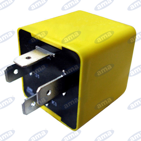 4 Terminals Halogenamp;Ama With Function Flasher Relay 0wOvNny8m